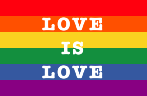Love is Love_Rainbow Flag